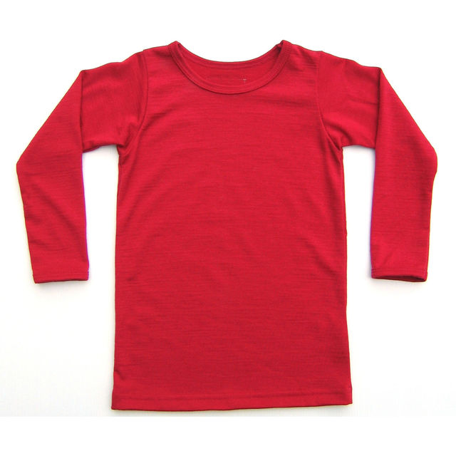 Little Devil Red  Long Sleeve Tee