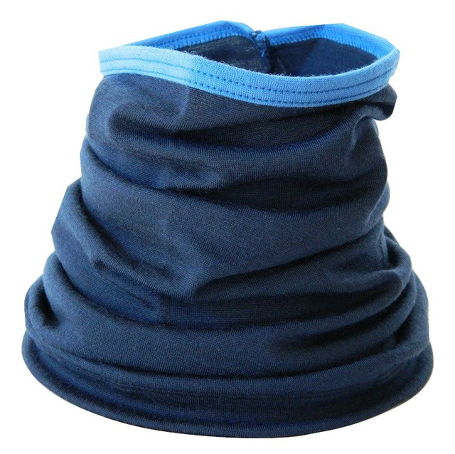 Ink Navy with Cobalt Blue Trim Neckwarmer