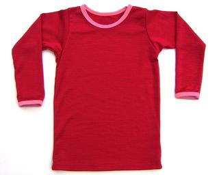 Little Devil Red with Pretty in Pink Long Sleeve Tee